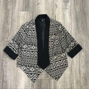 Aztec Open Front Blazer